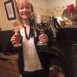 January Handicap Race winne. Fiona Campbell